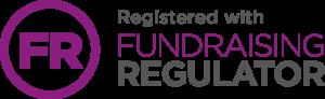 purple fundraising regulator logo