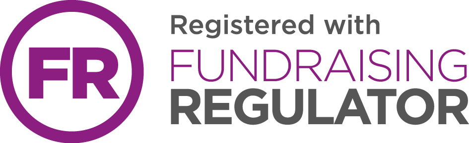 purple fundraising regulator logo